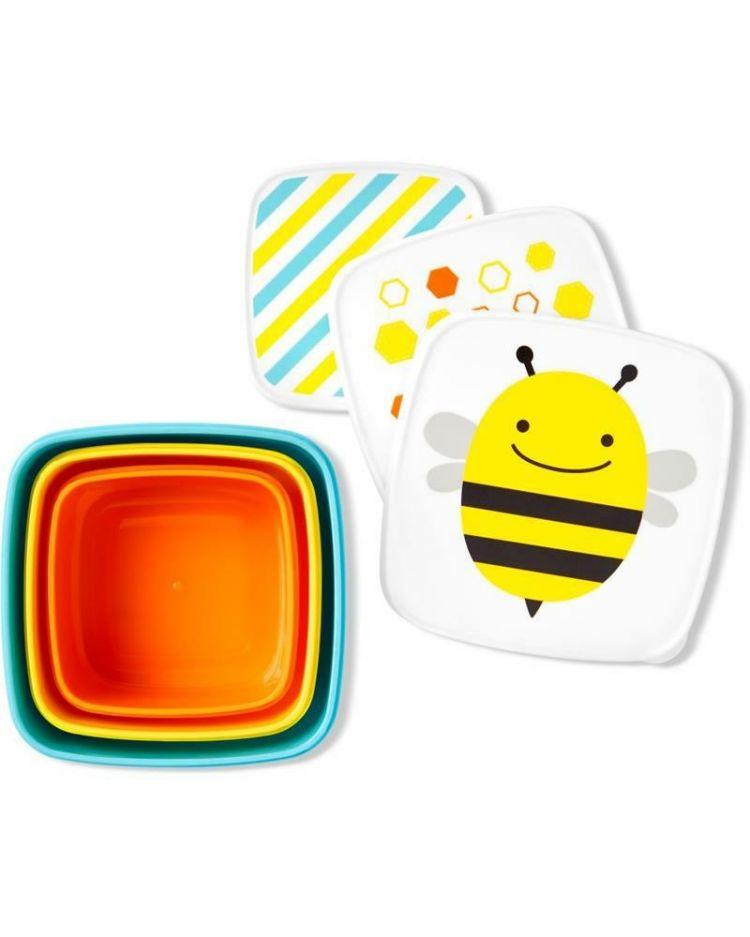 Skip Hop - Zestaw Pudełek Zoo Pszczoła