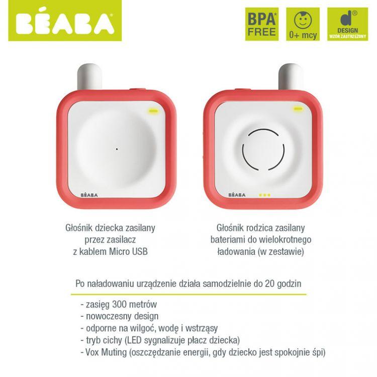 Beaba - Elektroniczna Niania 300m Coral