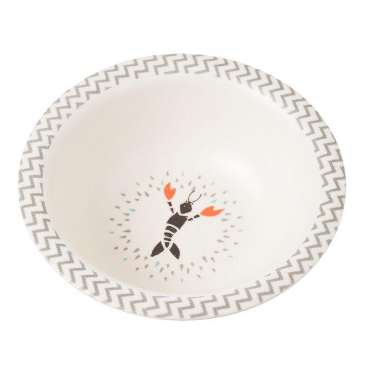 Fresk - Bambusowy Zestaw Obiadowy Wieloryb