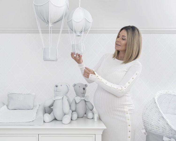 Caramella - Balon Dekoracyjny Pure Grey Mały