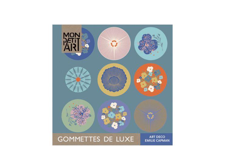 Mon Petit Art - Książeczka z Naklejkami Art Deco