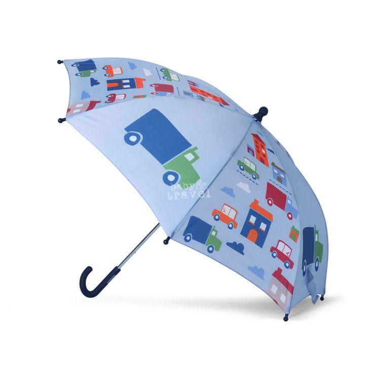 Penny Scallan - Parasol Niebieski w Autka