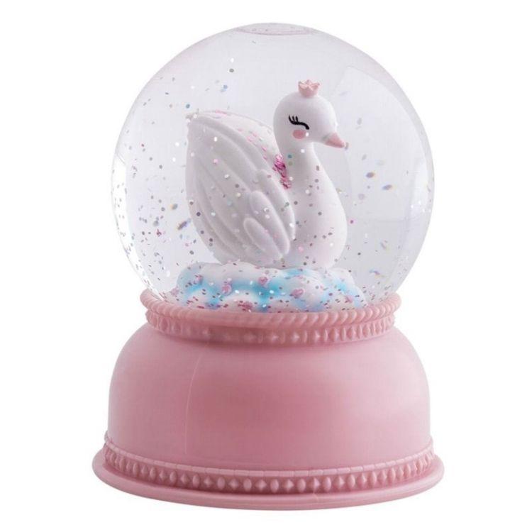 Little Lovely Company - Świecąca Kula Śnieżna Księżniczka Łabędzi
