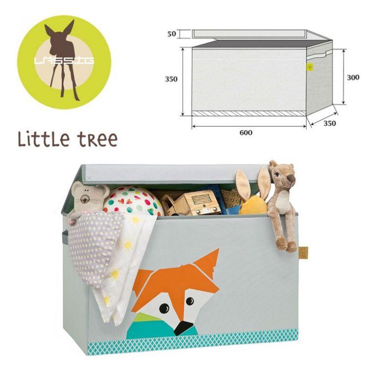 Lassig - Skrzynia Zamykana na Zabawki Little Tree Lis