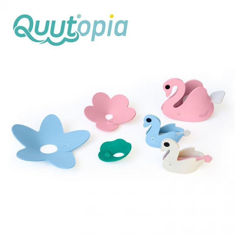 Quut - Zestaw Puzzli Piankowych 3D Quutopia Łabędzie