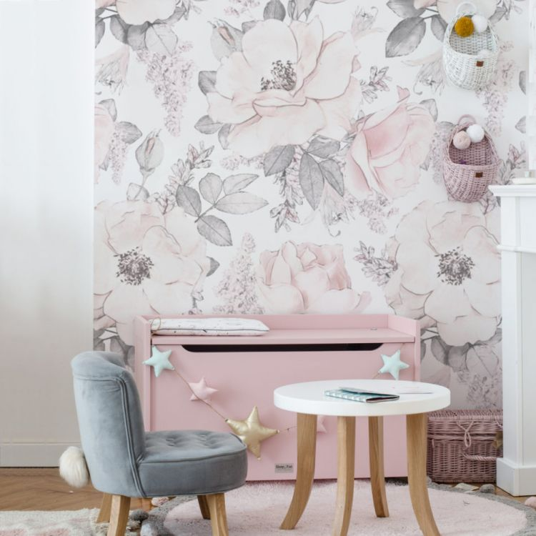 Dekornik - Tapeta Pink Garden
