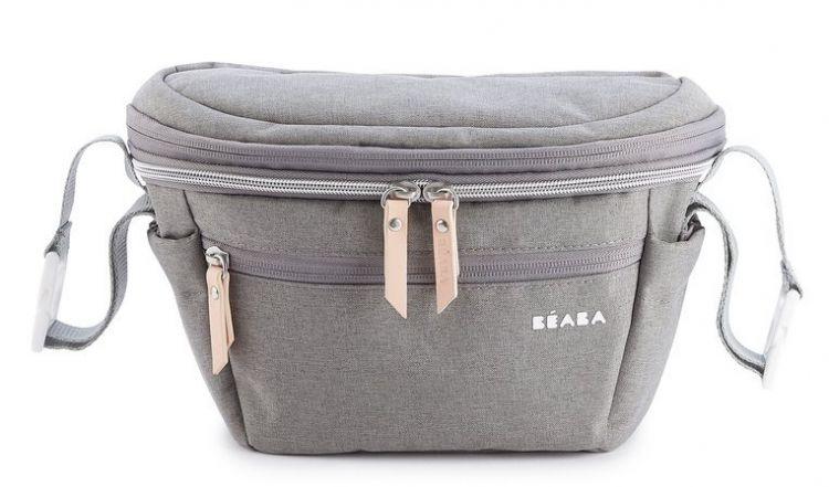 Beaba - Torba dla Mamy 2w1 Biarritz Heather Grey