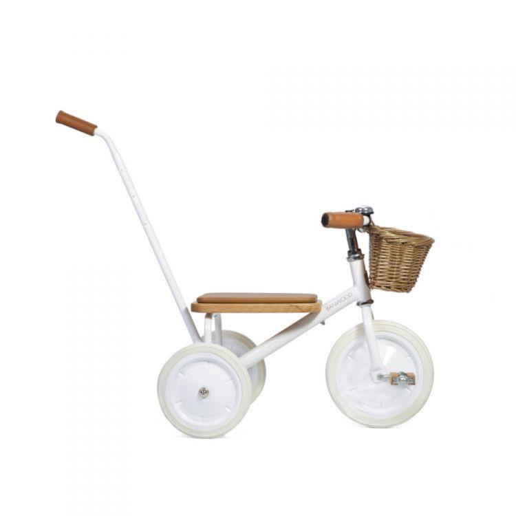 Banwood - Rowerek Trójkołowy Trike White 2+