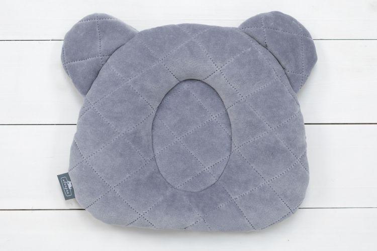 Sleepee - Poduszka z Wgłębieniem na Główkę Royal Baby Grey