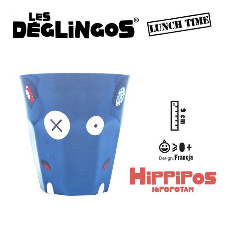 Les Deglingos - Kubek z Melaminy Hipopotam Hippipios