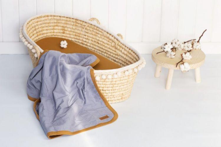 Poofi - Bawełniany Kocyk Organic Denim