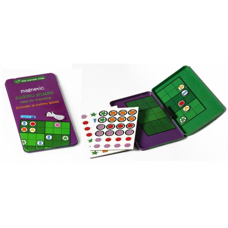 The Purple Cow - Gra Magnetyczna Sudoku Kształty