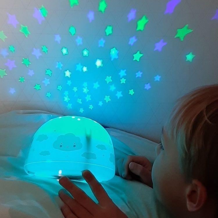 A Little Lovely Company - Projektor Świetlny Chmurka