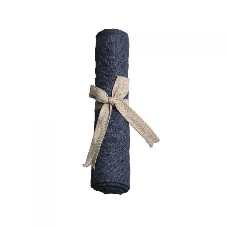 Filibabba - Pieluszka Muślinowa Dark Blue 65x65cm
