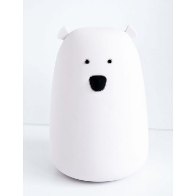 Rabbit&Friends - Lampka Led Miś Biały