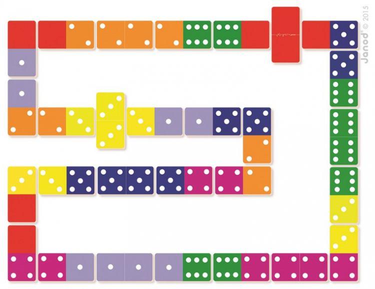 Janod - Domino Dżungla XL 3+