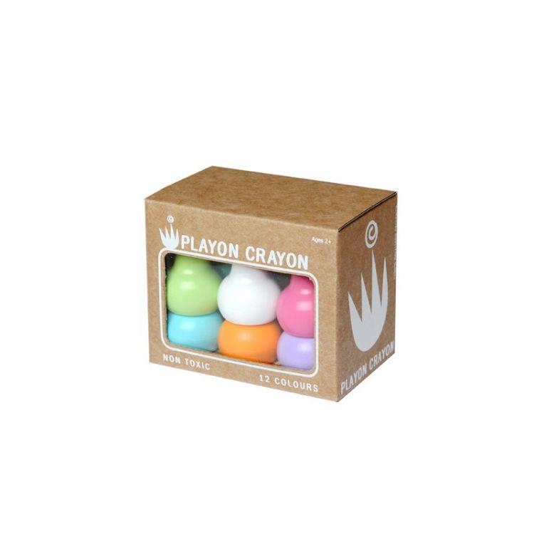 Playon Crayon - Kredki Stożkowe PLAYON PASTELS 2+