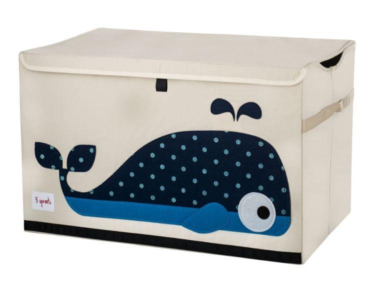 3 Sprouts - Pudełko Zamykane Wieloryb