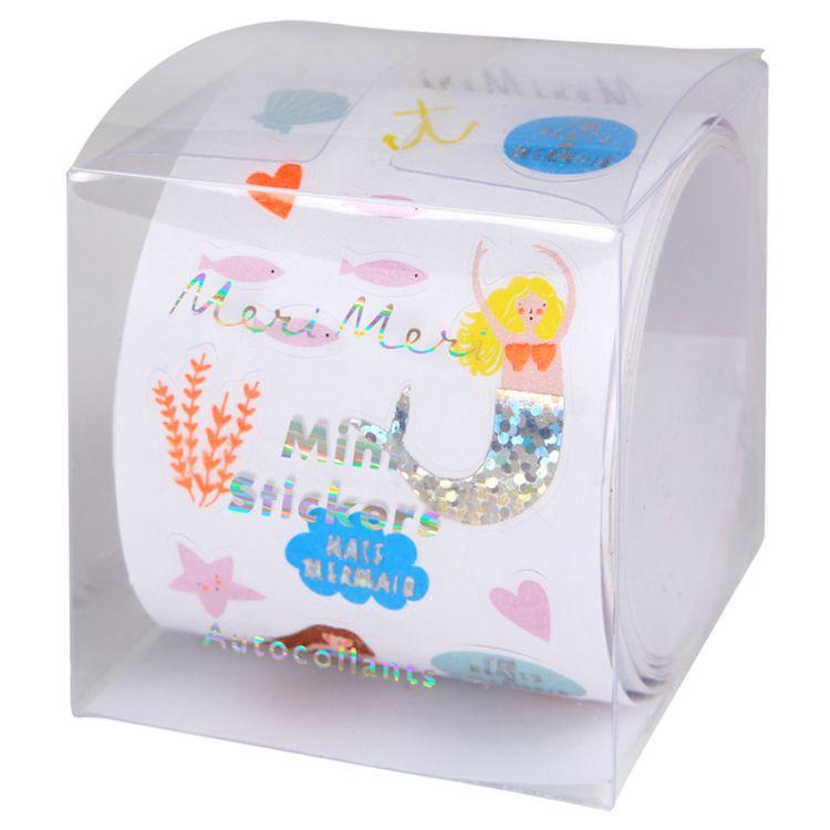 Meri Meri - Zestaw Naklejek Mini Candle Mermaid 3+