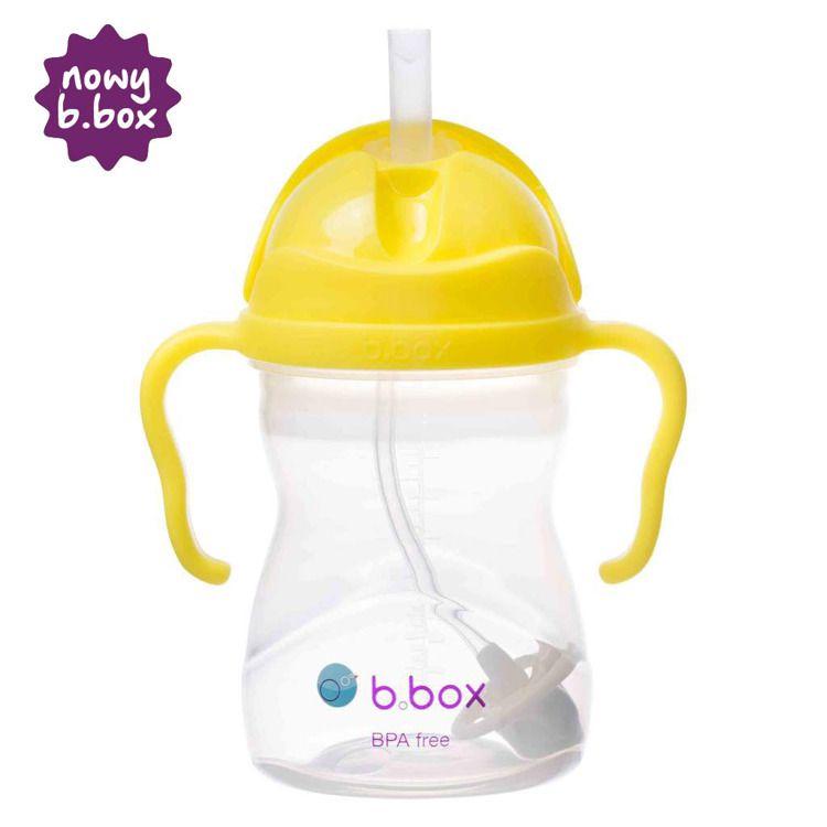 B. Box - Innowacyjny Bidon ze Słomką Cytrynowy