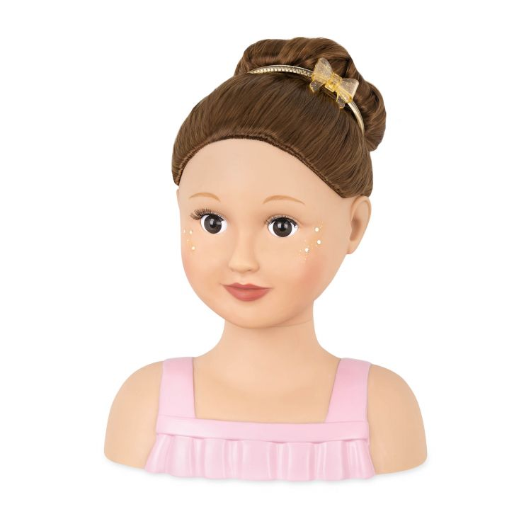 OurGeneration - Głowa Lalki do Czesania Talia Doll Face 3+