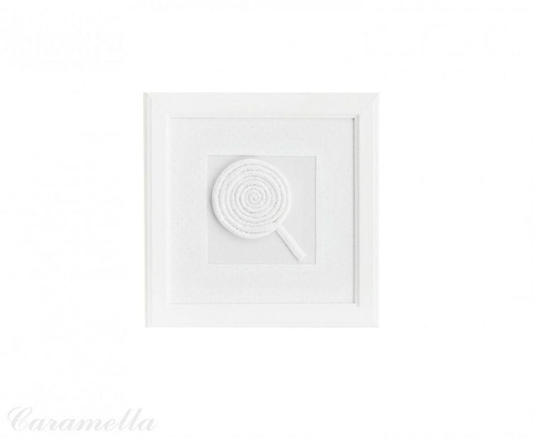 Caramella - Obrazek Shiny z Motywem Lizaka z Kokardą Shiny