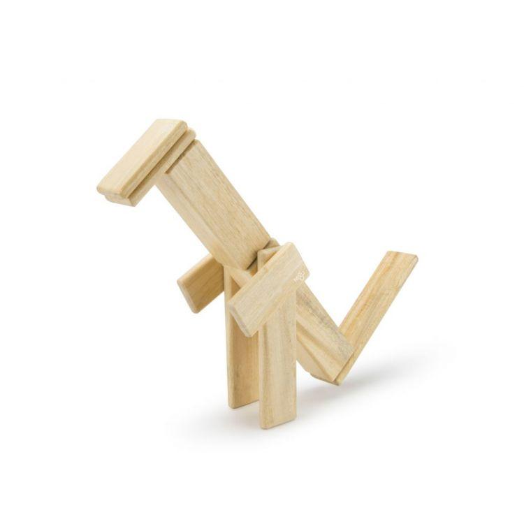 Tegu - Drewniane Klocki Magnetyczne Classics Zestaw 14szt Natural 1+