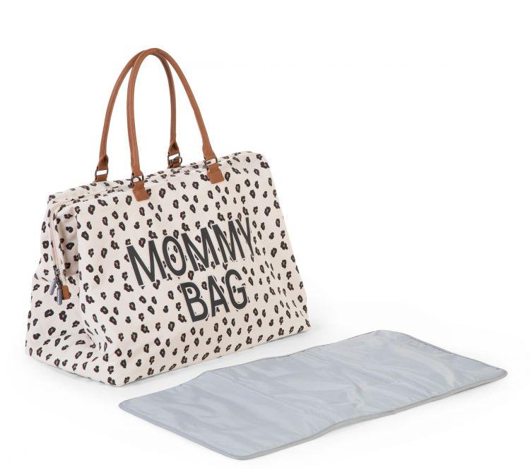 Childhome - Torba Mommy Bag Leopard + Przewijak