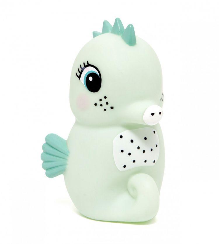 Petit Monkey - Lampka Seahorse Light Mint