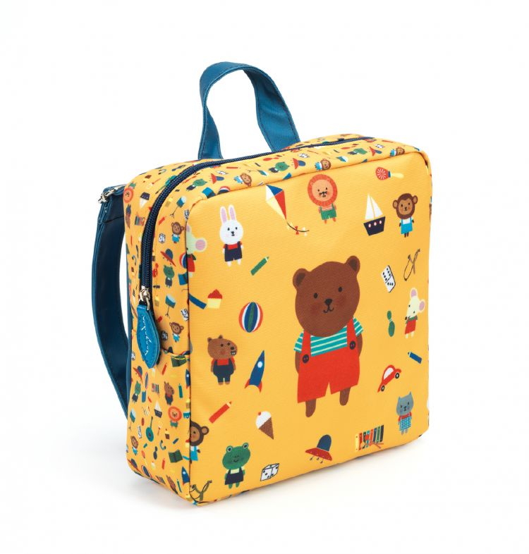 Djeco - Plecak dziecięcy Niedźwiadek