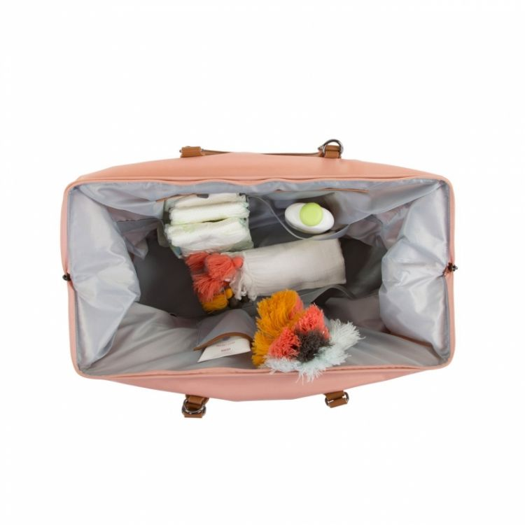 Childhome - Torba Podróżna Mommy Bag Różowa