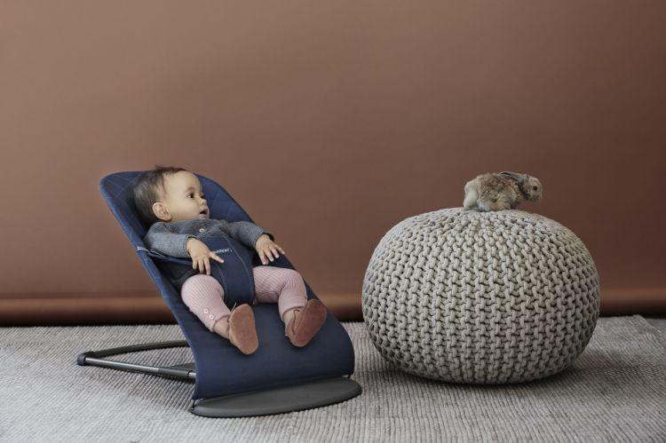 BabyBjorn - Leżaczek Bliss Granatowy