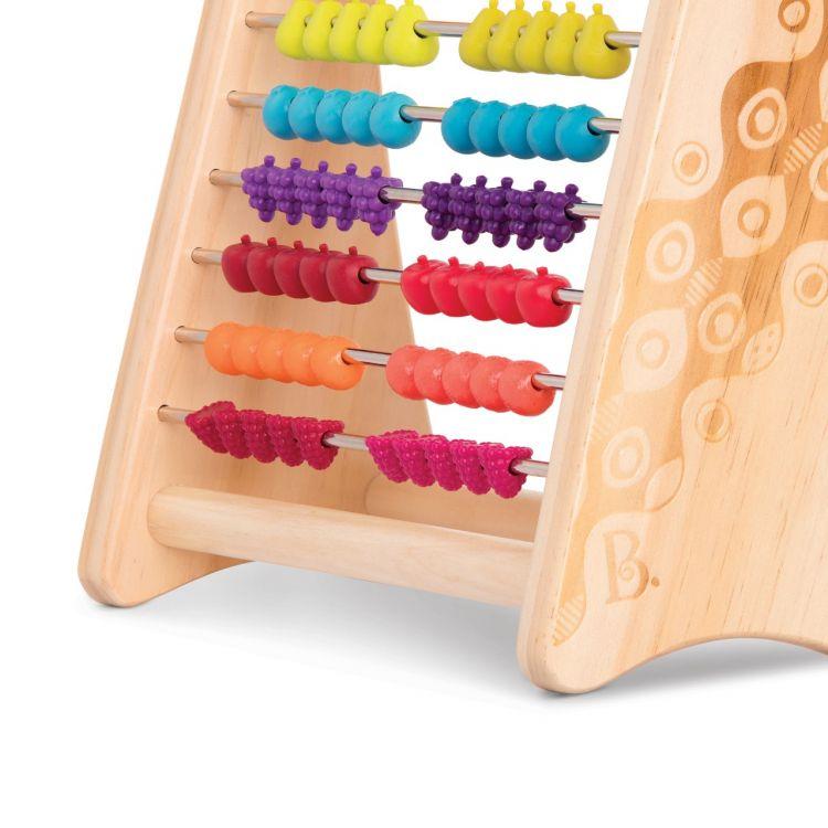 B. Toys - Liczydło Sensoryczne z Owocami - Mniejsza Wersja 18m+
