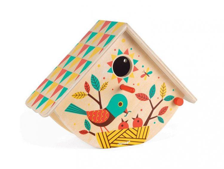 Janod - Mały Ogrodnik Budka dla Ptaków 3+