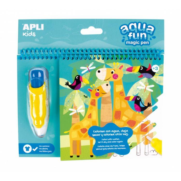 Apli Kids - Kolorowanka Wodna Dżungla