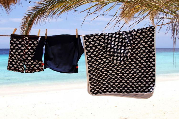 Lassig - Ręcznik Poncho UV 50+ Viking 120x60cm