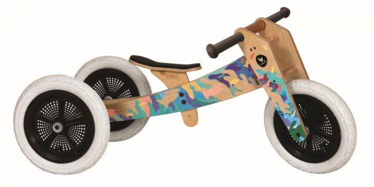 Wishbone Bike - Rowerek Biegowy 3 w 1 Tangaroa Edycja Limitowana