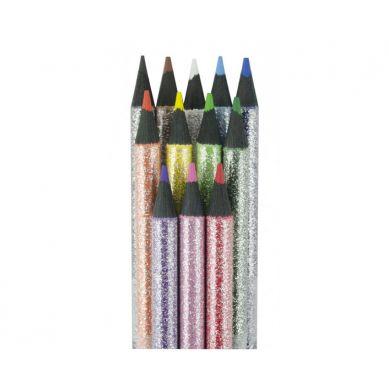 Ooly - Kredki Ołówkowe Czarne Drewno Razzle Dazzle 12szt