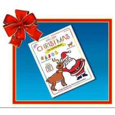 Wikki Stix - Woskowe Sznureczki Christmas Book 3+