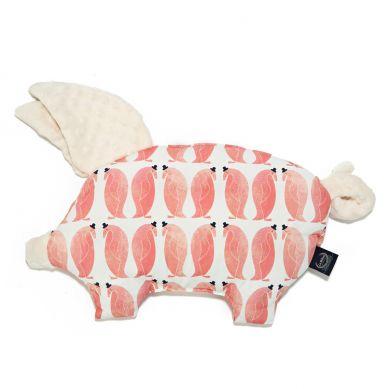 La Millou - Podusia do Wózka Sleepy Pig Peguin Pepe Ecru