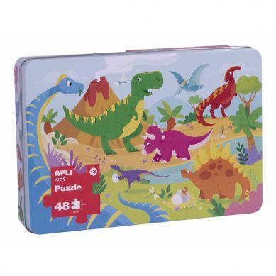 Apli Kids - Puzzle XL Dinozaury 3+