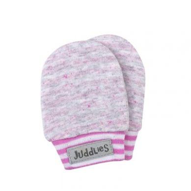 Juddlies - Rękawiczki Niedrapki Rosedale Pink