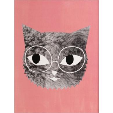 OMM Design - Plakat Kotek w Okularach