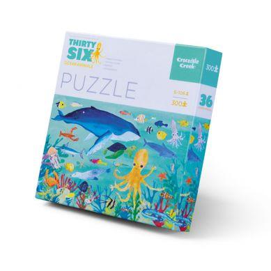 Crocodile Creek - Puzzle 300el. Motyw Morskie Zwierzęta