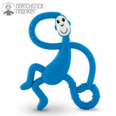 Matchstick Monkey - Gryzak Masujący ze Szczoteczką Blue 3m+