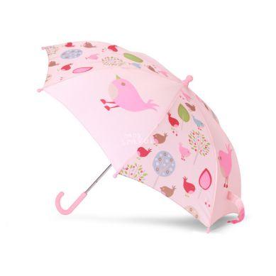 Penny Scallan - Parasol Różowy w Ptaszki