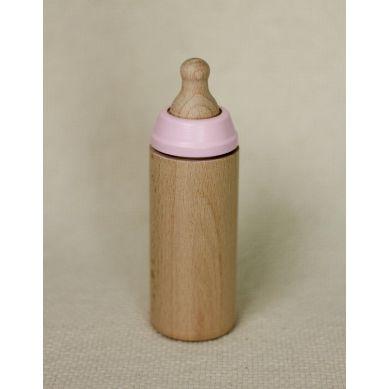 Miniland - Butelka Drewniana dla Lalki Różana