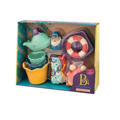 B. Toys - Zestaw dla Niemowląt Niebieski do Kąpieli