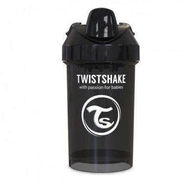 Twistshake - Kubek Niekapek z Mikserem do Owoców 300ml Czarny