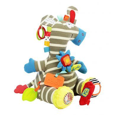 Dolce - Zabawka Sensoryczna Aktywizująca Zebra